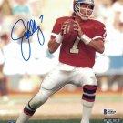 John Elway Autographed Signed Denver Broncos 8x10 Photo BECKETT