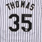 Frank Thomas Signed Autographed Majestic White Sox Jersey JSA