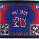 Billy Williams Autographed Signed Chicago Cubs Framed Jersey JSA