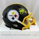 Troy Polamalu Autographed Signed Pittsburgh Steelers Mini Helmet BECKETT