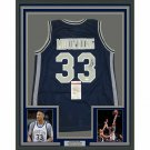 Alonzo Mourning Signed Autographed Framed Georgetown Hoyas Jersey JSA