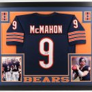 Jim McMahon Autographed Signed Framed Chicago Bears Jersey BECKETT COA