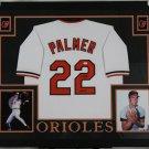 Jim Palmer Autographed Signed Baltimore Orioles Framed Jersey JSA