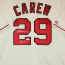 Rod Carew Autographed Signed California Angels Majestic Jersey JSA