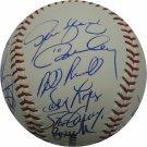 Los Angeles Dodgers 1981 WS Team Autographed Signed Rawlings Baseball HOF COA