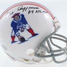 Gino Cappelletti Autographed Signed New England Patriots Mini Helmet JSA