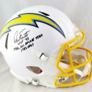 Dan Fouts Autographed Signed San Diego Chargers Speed Proline Helmet BECKETT