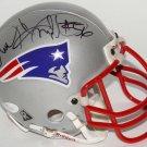 Andre Tippett Autographed Signed New England Patriots Mini Helmet JSA
