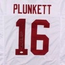 Jim Plunkett Signed Autographed Stanford Cardinal Jersey JSA