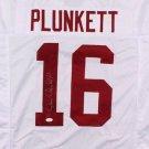 Jim Plunkett Signed Autographed Stanford Cardinal Jersey JSA