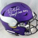 Randy Moss Autographed Signed Minnesota Vikings FS Speedflex Proline Helmet BECKETT