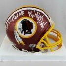 Dexter Manley Signed Autographed Washington Redskins Mini Helmet COA