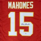 Patrick Mahomes Signed Autographed Kansas Chiefs Jersey BECKETT
