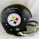 Joe Greene Autographed Signed Pittsburgh Steelers FS TB Helmet BECKETT