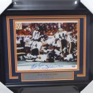 Walter Payton Chicago Bears Autographed Signed Framed 8x10 Photo PSA