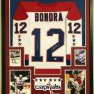 Peter Bondra Autographed Signed Framed Washington Capitals Jersey JSA