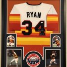 Jeff Bagwell Autographed Signed Framed Houston Astros Jersey TRISTAR