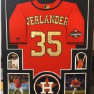 Lance Berkman Autographed Signed Framed Houston Astros Jersey TRISTAR