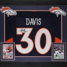 Terrell Davis Autographed Signed Framed Denver Broncos Jersey BECKETT