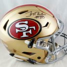 Jerry Rice Autographed Signed San Francisco 49ers SpeedFlex Proline Helmet BECKETT