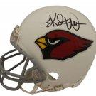Kurt Warner Autographed Signed Arizona Cardinals Mini Helmet JSA
