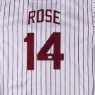 Pete Rose Autographed Signed Philadelphia Phillies Jersey JSA