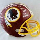 Mark Rypien Autographed Signed Washington Redskins FS Helmet JSA
