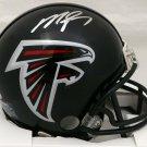 Michael Vick Autographed Signed Atlanta Falcons Mini Helmet BECKETT