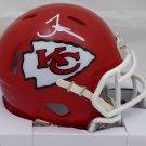Tyreek Hill Signed Autographed Kansas City Chiefs Mini Helmet BECKETT