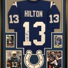 Peyton Manning Autographed Signed Framed Indianapolis Colts Jersey FANATICS