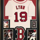 Luis Tiant Autographed Signed Framed Boston Red Sox Jersey JSA