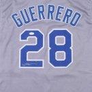 Pedro Guerrero Autographed Signed Los Angeles Dodgers Jersey JSA