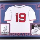 Bob Feller Signed Autographed Framed Cleveland Indians Jersey JSA