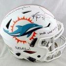 Ricky Williams Autographed Signed Miami Dolphins Speedflex Helmet JSA