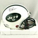 Vinny Testaverde Signed Autographed New York Jets Mini Helmet JSA
