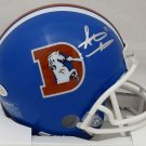 Steve Atwater Autographed Signed Denver Broncos Mini Helmet BECKETT