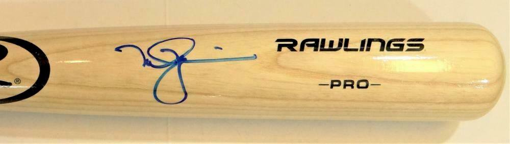 Mark McGwire Cardinals A's Autographed Signed Rawlings Baseball Bat BECKETT