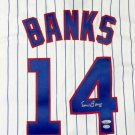 Ernie Banks Autographed Signed Chicago Cubs Majestic Jersey TRISTAR