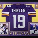 Adam Thielen Autographed Signed Framed Minnesota Vikings Jersey BECKETT
