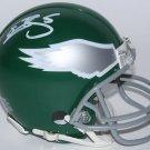 Donovan McNabb Signed Autographed Philadelphia Eagles Mini Helmet JSA