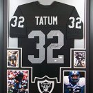 Jack Tatum Autographed Signed Framed Oakland Raiders Jersey JSA