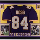 Randy Moss Autographed Signed Framed Minnesota Vikings Jersey BECKETT