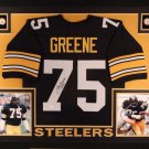 Joe Greene Autographed Signed Framed Pittsburgh Steelers Jersey BECKETT