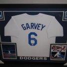 Steve Garvey Autographed Signed Framed Los Angeles Dodgers Jersey JSA