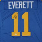 Jim Everett Autographed Signed Los Angeles Rams Jersey JSA