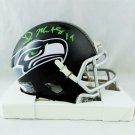 DK Metcalf Signed Autographed Seattle Seahawks Mini Helmet BECKETT
