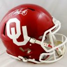 Adrian Peterson Autographed Signed Oklahoma Sooners Full Size Helmet BECKETT