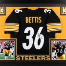 Jerome Bettis Autographed Signed Framed Pittsburgh Steelers Jersey BECKETT