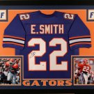 Emmitt Smith Autographed Signed Framed Florida Gators Jersey BECKETT