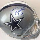 Tony Romo Autographed Signed Dallas Cowboys FS Helmet BECKETT